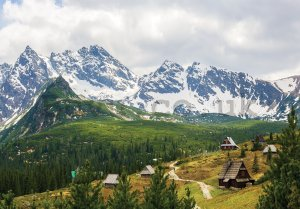 Wall mural vlies: Tatra Mountains (1) - 416x254 cm