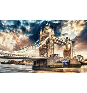 Wall mural vlies: Tower Bridge (3) - 416x254 cm