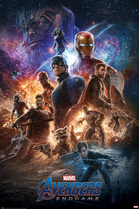 Poster - Avengers Endgame (From The Ashes)