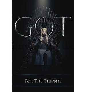 Poster - Game of Thrones (Daenerys For the Throne)