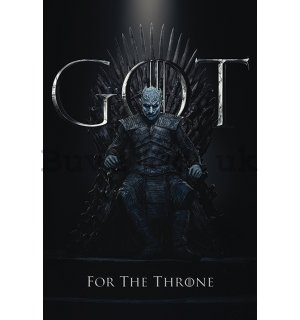 Poster - Game of Thrones (The Night King For the Throne)