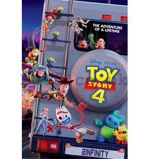 Poster - Toy Story 4 (Adventure of a Lifetime)