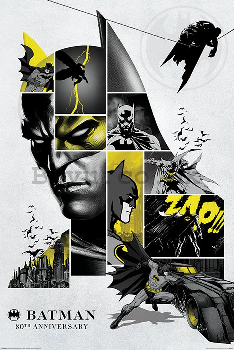 Poster - Batman 80th Anniversary