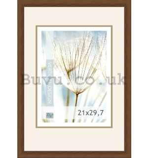 Photo frame, 1 photo, 21x29,7 cm (Dark brown)