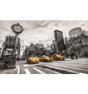 Wall Mural: New York (Taxi) - 254x368 cm