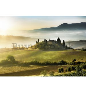 Wall mural: Tuscany Hill - 104x152,5 cm