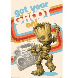 Poster - Guardians Of The Galaxy (Get Your Groot On)