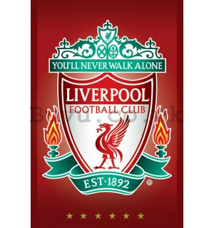 Poster - Liverpool FC (Crest)