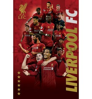 Poster - Liverpool FC (Players 2019-20)