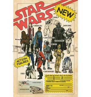 Poster - Star Wars (Action Figures)