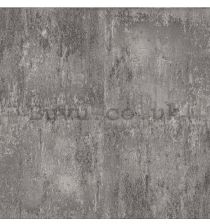 Vinyl wallpaper gray concrete wall (2)