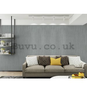 Vinyl wallpaper structured shade of silver-gray (6)