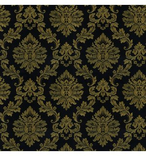 Vinyl wallpaper golden ornament small