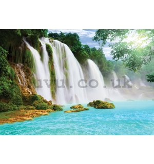 Wall mural: Waterfalls - 368x254cm
