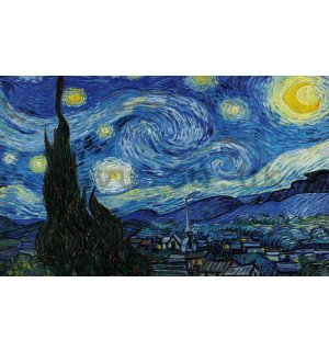 Wall mural: Vincent Van Gogh, The Starry Night - 104x70,5cm