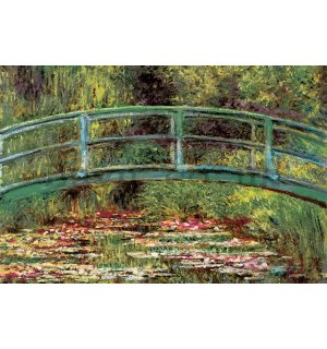 Wall mural vlies: Claude Monet, Pond with water lilies - 104x70,5 cm