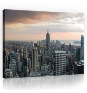 Painting on canvas: Manhattan - 75x100 cm