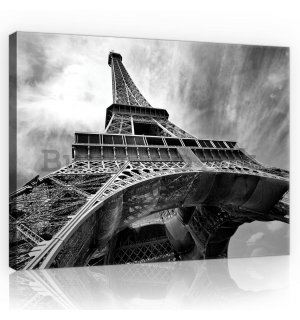 Painting on canvas: Eiffel Tower (2) - 75x100 cm