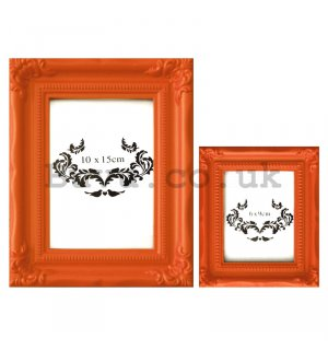 Photo frame - orange set, 10x5cm | 6x9cm