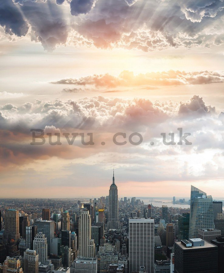 Painting on canvas: Manhattan View (2) - 100x75 cm