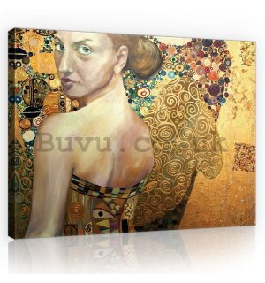 Painting on canvas: Beauty (oil painting) - 75x100 cm