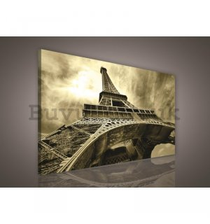 Painting on canvas: Eiffel Tower (3) - 75x100 cm