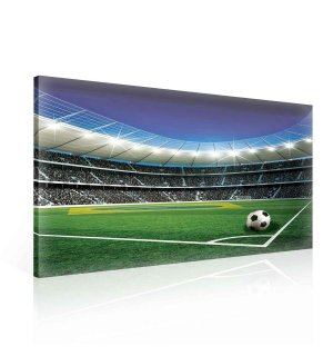 Painting on canvas: Football stadium (5) - 75x100 cm