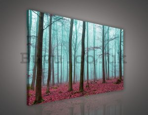 Painting on canvas: Fog in the Forest (3) - 75x100 cm