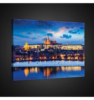 Painting on canvas: Prague (2) - 75x100 cm
