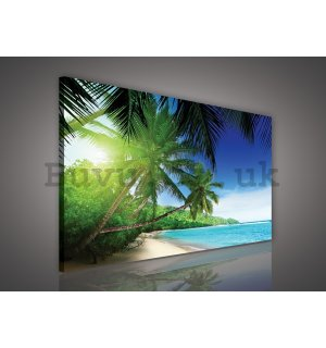 Painting on canvas: Paradise on the Beach - 75x100 cm