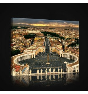Painting on canvas: Vatican - 75x100 cm