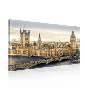 Painting on canvas: Westminster (3) - 75x100 cm