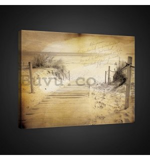 Painting on canvas: Vintage - 75x100 cm
