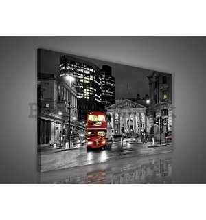 Painting on canvas: London - 75x100 cm