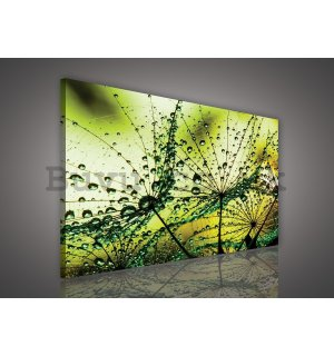Painting on canvas: Rain drops (2) - 75x100 cm