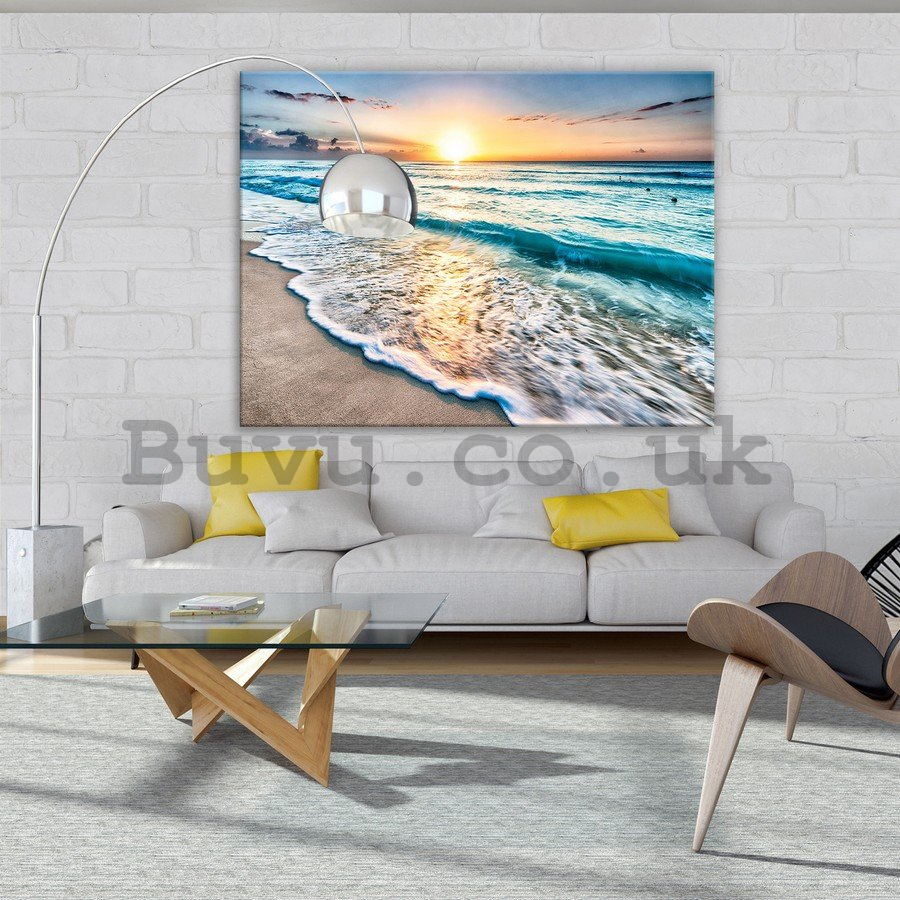 Painting on canvas: Tide (3) - 75x100 cm