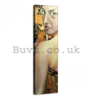 Painting on canvas: Beauty (oil painting) - 145x45 cm