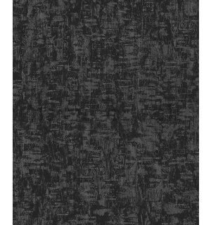 Vinyl wallpaper structured black-gray