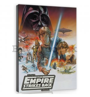 Painting on canvas: Star Wars The Empire Strikes Back - 75x100 cm