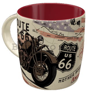 Mug - Route 66 Bike Map
