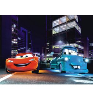 Wall mural vlies: Cars (friends) - 360x270 cm