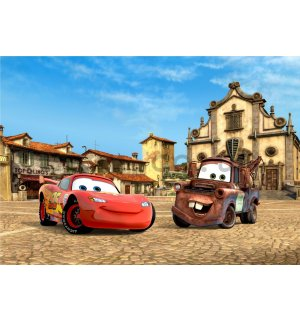 Wall mural vlies: Cars II (friends)- 360x270 cm