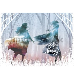 Wall mural vlies: Frozen II Journey - 160x110 cm