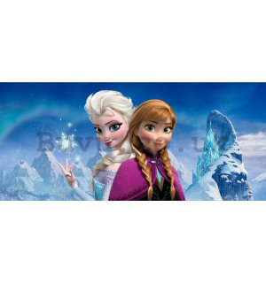 Wall mural vlies: Frozen Sisters (panorama) - 202x90 cm