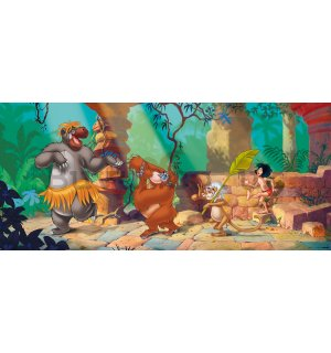 Wall mural vlies: The Jungle Book (panorama)  - 202x90 cm