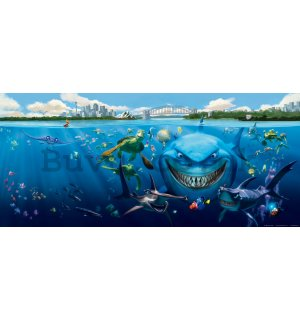 Wall mural vlies: Finding Dory (panorama)  - 202x90 cm