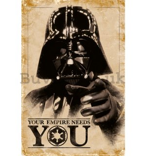 Poster - Star Wars (Your Empire Needs You)