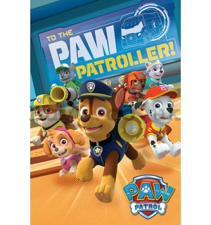 Poster - Paw Patrol (To The Paw Patroller)
