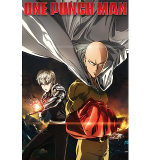 Poster - One Punch Man (Destruction)