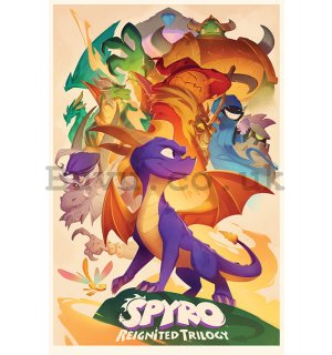 Poster - Spyro (Animated Style)